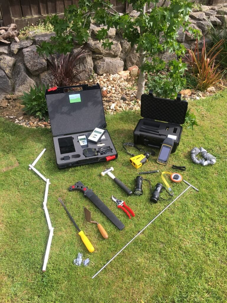 tree survey equipment used by our arboricultural specialists